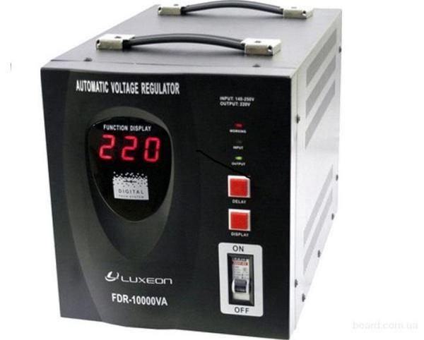 Spenningsstabilisering opptil 220 V