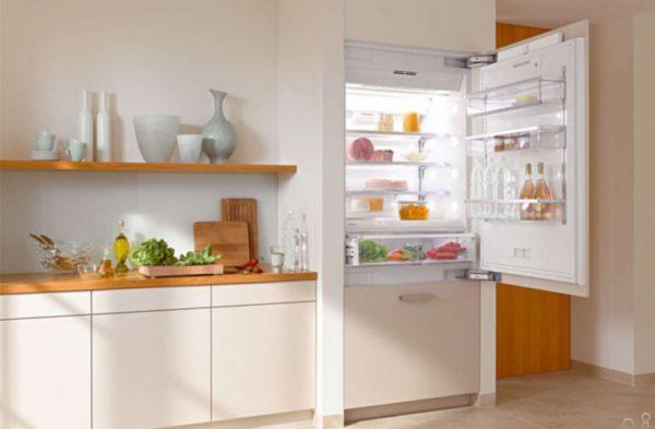 Réfrigérateur intégré à une chambre