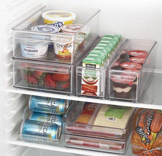 Contenants de stockage des aliments en plastique
