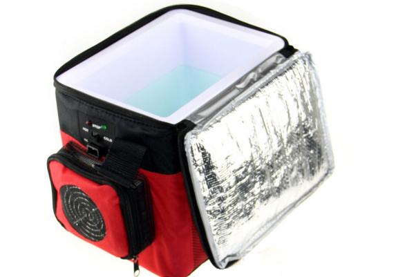 Hvordan ser en kjølerpose ut?