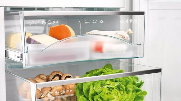 Buzdolabındaki çekmeceler