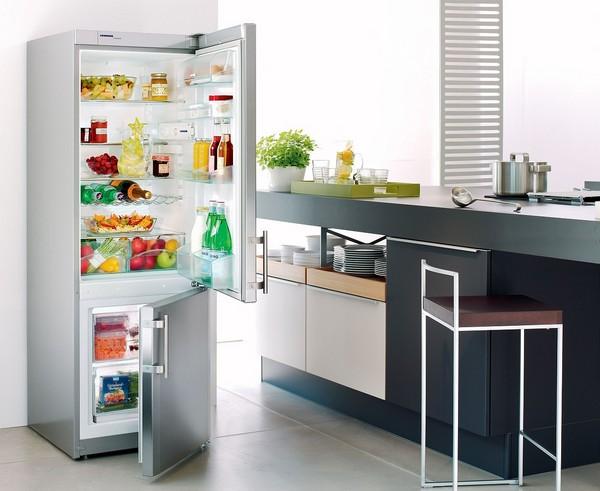 Kjøleskap med to koder