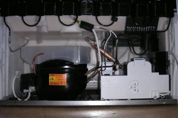 Liebher buzdolabında kompresör