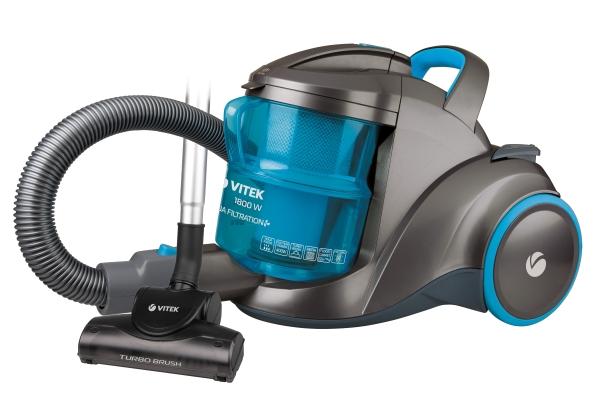 Aqua filtre ile elektrikli süpürge Vitek