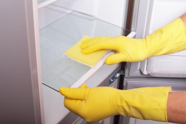 İçindeki buzdolabının temizlenmesi