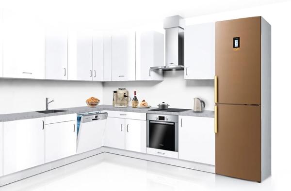 Bosch kjøleskap i interiøret