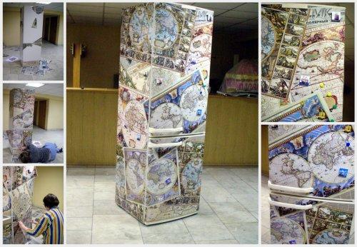 Buzdolabı dekorasyon