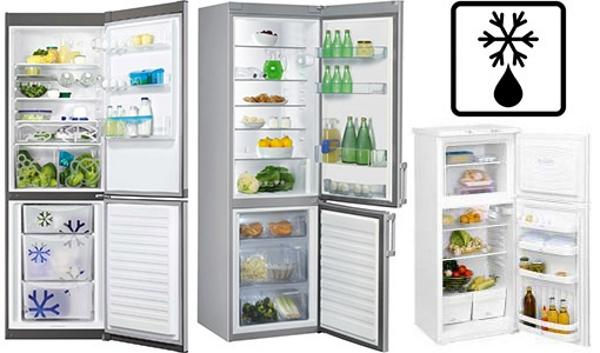 Système goutte à goutte dégivrer le réfrigérateur