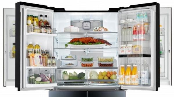Kjøleskap komplett sett