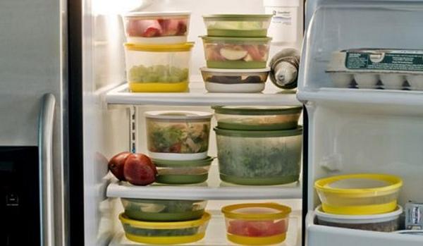 Buzdolabında yiyecek saklama