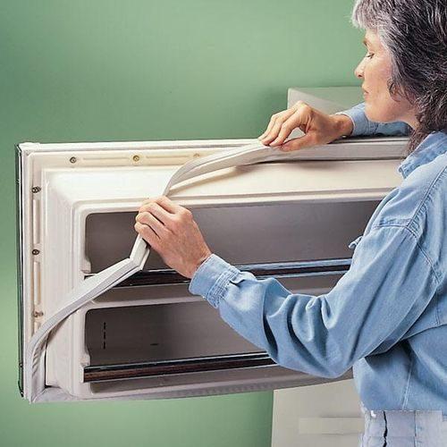 Buzdolabında lastik pedler