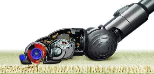 Elektrikli süpürge için turbo fırça