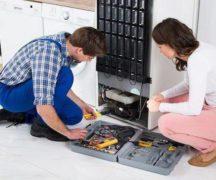 Reparera ett felaktigt kylskåp