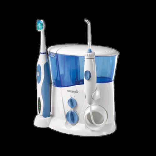 Irrigator og elektrisk tandbørste