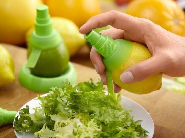 Limon ve portakal için özel nozullar
