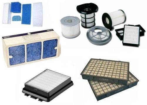 Types of filters for vacuum cleaner