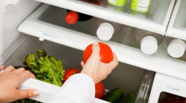 Tomate au frigo