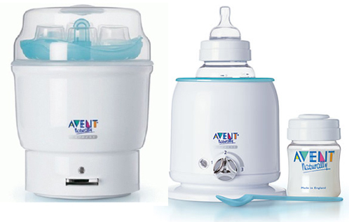 Bebek mamaları için sterilizatör