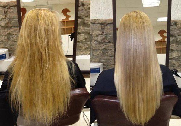 Cihazı kullanmanın sonucu: önce ve sonra