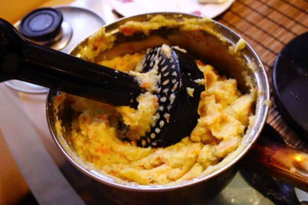 Buse pour purée de pommes de terre