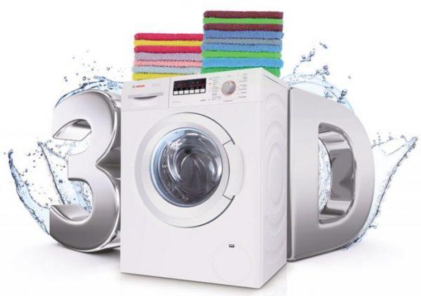 Avantixx de Bosch avec technologie de lavage 3D
