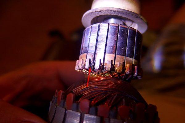 Vakuummotor-Kurzschluss