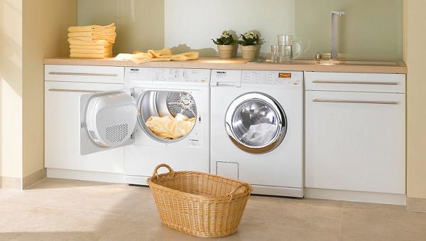 Vaskemaskin i interiøret