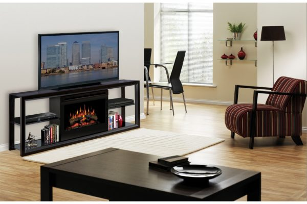 Multimedia electric fireplace