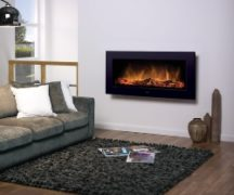 Electrofireplace med virkning af levende ild