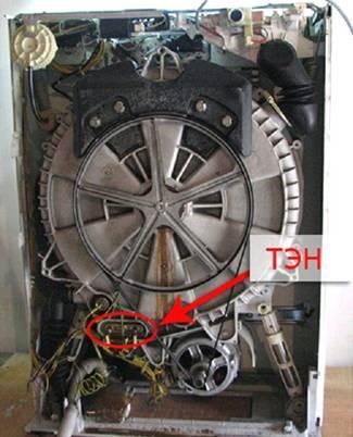 TEN çamaşır makinesi