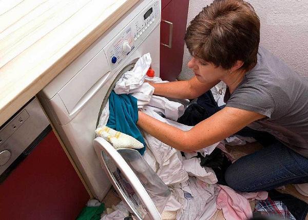 Överbelastnings tvättmaskin