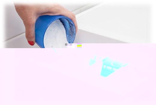 Poudre dans le compartiment de la machine à laver