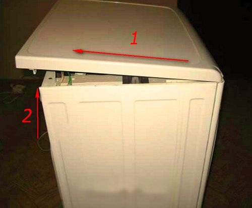 Çamaşır makinesinin kapağı nasıl çıkarılır