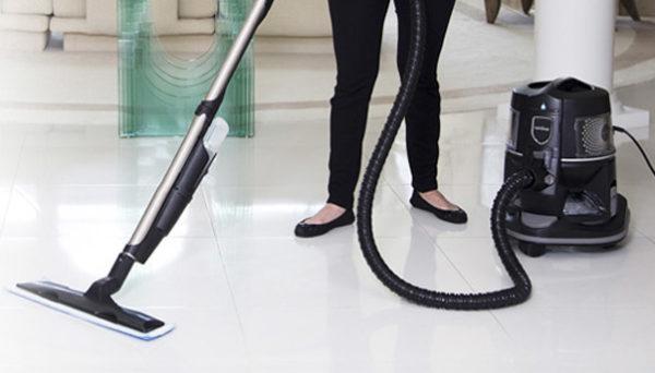 Horisontal vask støvsuger