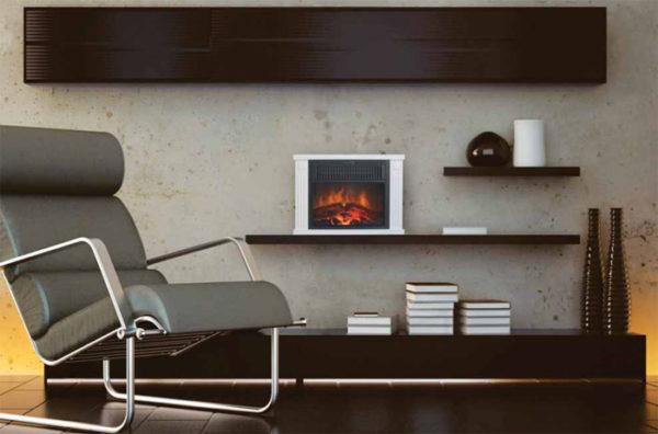 Mini foyer électrique