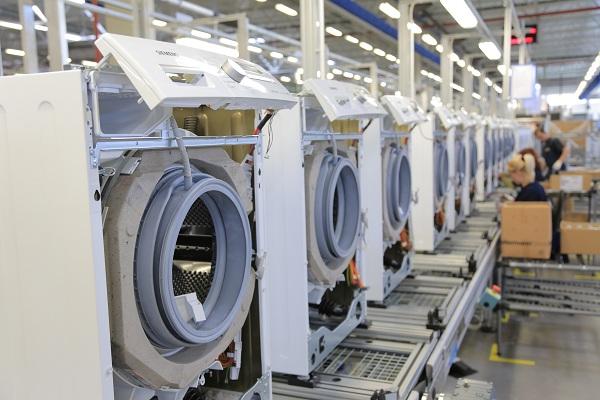 Usine de fabrication de machines à laver