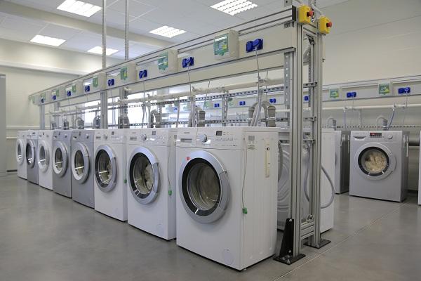 Test de machine à laver