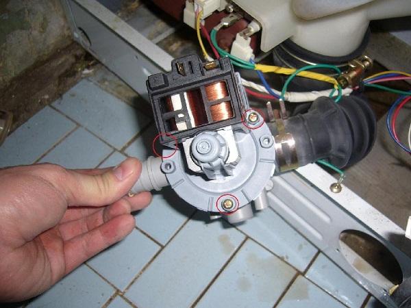 Pompe de machine à laver