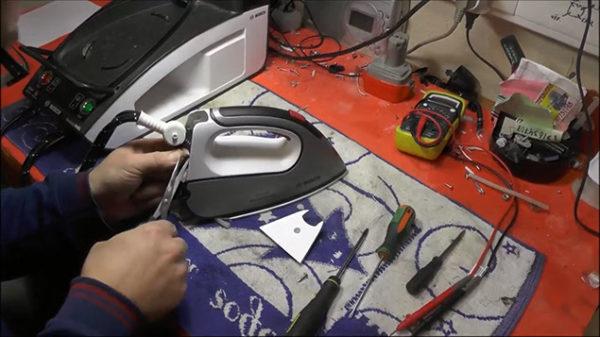 Réparation de fer