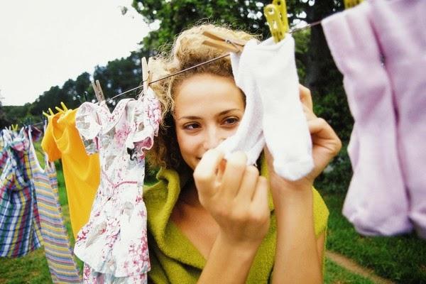 Tvätta barnkläder