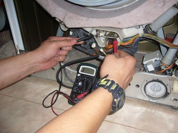 Vérification du voltmètre