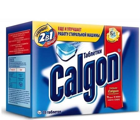 Calgon pour machine à laver