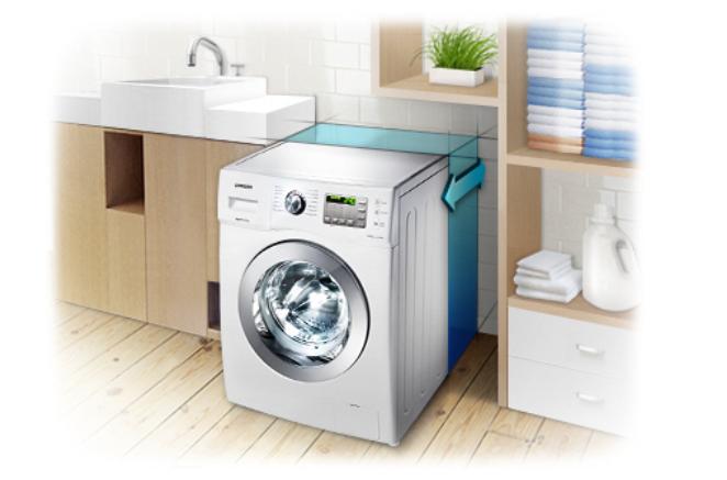 Dar çamaşır makinesi