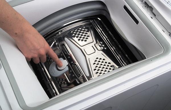 Trommel i vaskemaskinen