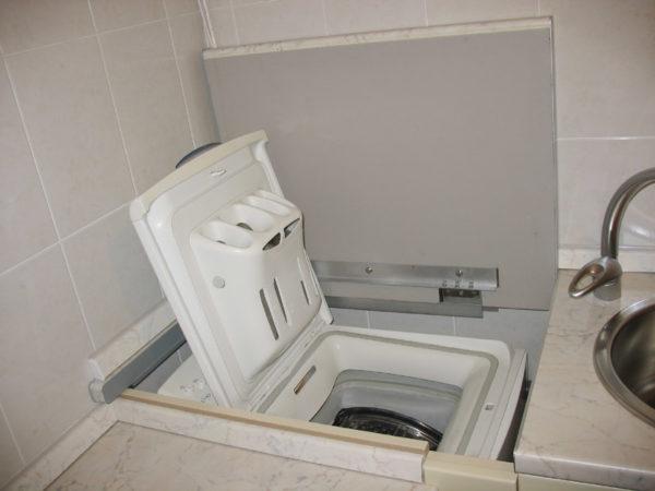 Lave-linge à chargement par le haut