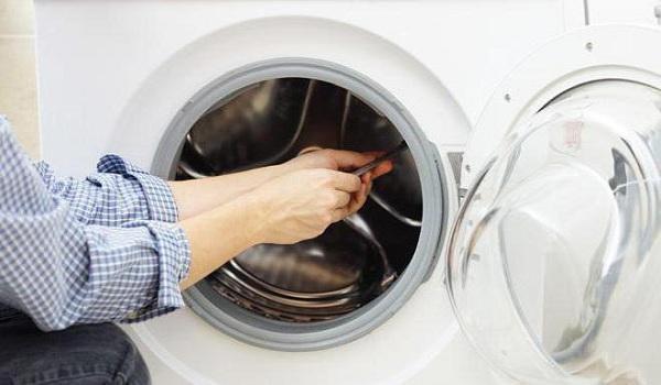 Avmontering av tvättmaskinen