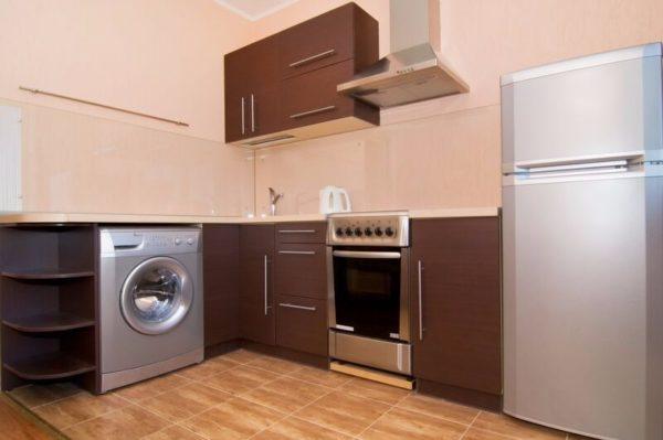 Méthode ouverte d'intégration d'une machine à laver