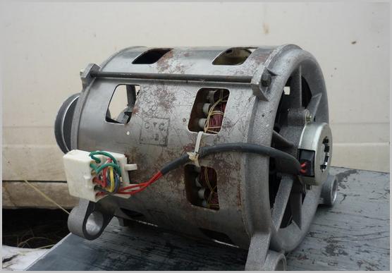 Asenkron motorlu çamaşır makinesi