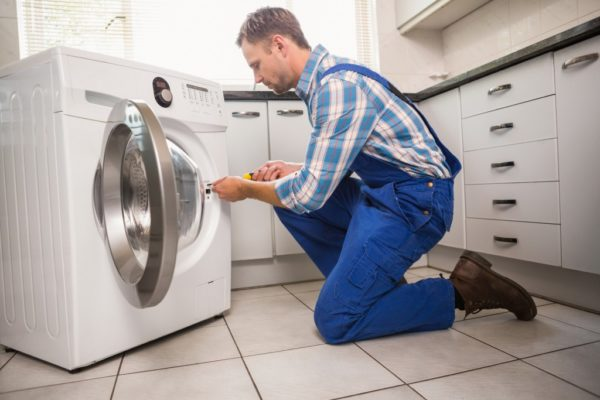 Tvättmaskin lås reparation