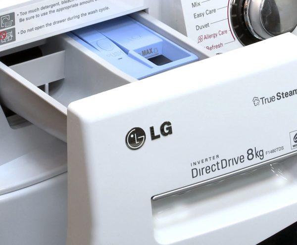 Bac à poudre en machine à laver